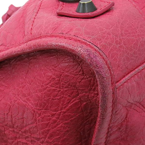 Balenciaga(발렌시아가) 168028 빈티지 램스킨 핑크 클래식 파트타임 모터 토트백 + 숄더스트랩 2WAY [대구반월당본점] 이미지6 - 고이비토 중고명품