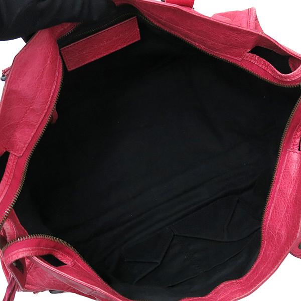 Balenciaga(발렌시아가) 168028 빈티지 램스킨 핑크 클래식 파트타임 모터 토트백 + 숄더스트랩 2WAY [대구반월당본점] 이미지7 - 고이비토 중고명품