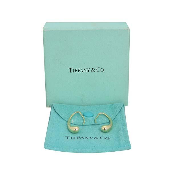 Tiffany(티파니) 18K 골드 엘사퍼레티 티어드롭 귀걸이  [대구반월당본점]