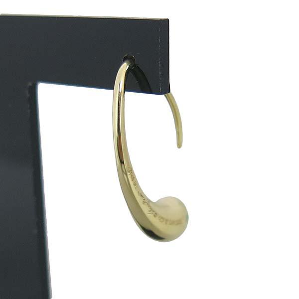 Tiffany(티파니) 18K 골드 엘사퍼레티 티어드롭 귀걸이  [대구반월당본점] 이미지3 - 고이비토 중고명품