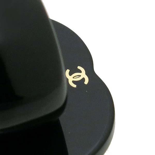 Chanel(샤넬) COCO 로고 블랙 컬러 반지 - 13호 [강남본점] 이미지2 - 고이비토 중고명품