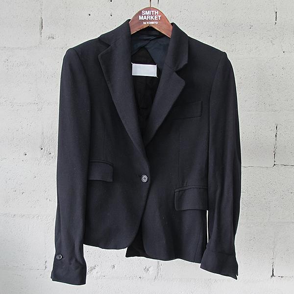 MARTIN MARGIELA(마틴마르지엘라) 31BN017 블랙 컬러 비대칭 여성용 자켓 [동대문점]