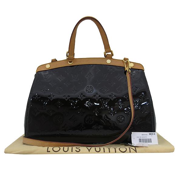 Louis Vuitton(루이비통) M91619 모노그램 베르니 아마랑뜨 브레아 MM 2WAY [대전본점]