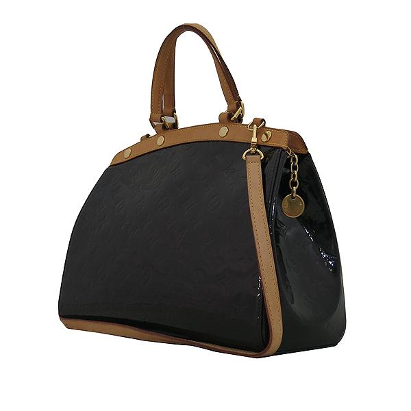 Louis Vuitton(루이비통) M91619 모노그램 베르니 아마랑뜨 브레아 MM 2WAY [대전본점] 이미지3 - 고이비토 중고명품