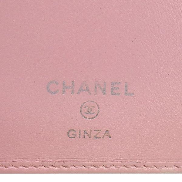 Chanel(샤넬) 핑크레더 퀼팅 까멜리아 장지갑 [강남본점] 이미지4 - 고이비토 중고명품