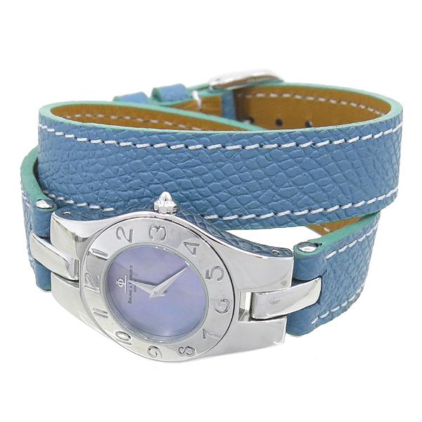 Baume&Mercier(보메메르시에) LINEA 자개판 가죽밴드 여성용 시계 [강남본점] 이미지2 - 고이비토 중고명품