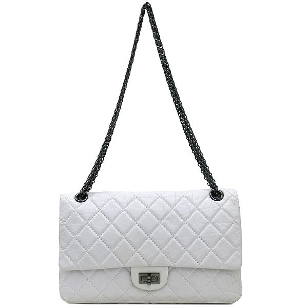 Chanel(샤넬) 2.55 빈티지 M 사이즈 화이트 체인 숄더백 [강남본점] 이미지2 - 고이비토 중고명품