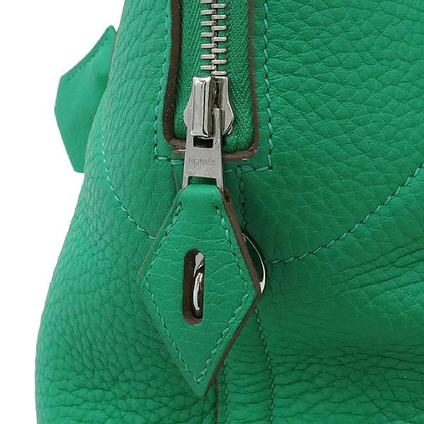 Hermes(에르메스) 볼리드 VERT BENGHAL(그린)컬러 35 토트백 + 숄더스트랩 + 정품 트윌리 스카프SET [대구동성로점] 이미지5 - 고이비토 중고명품