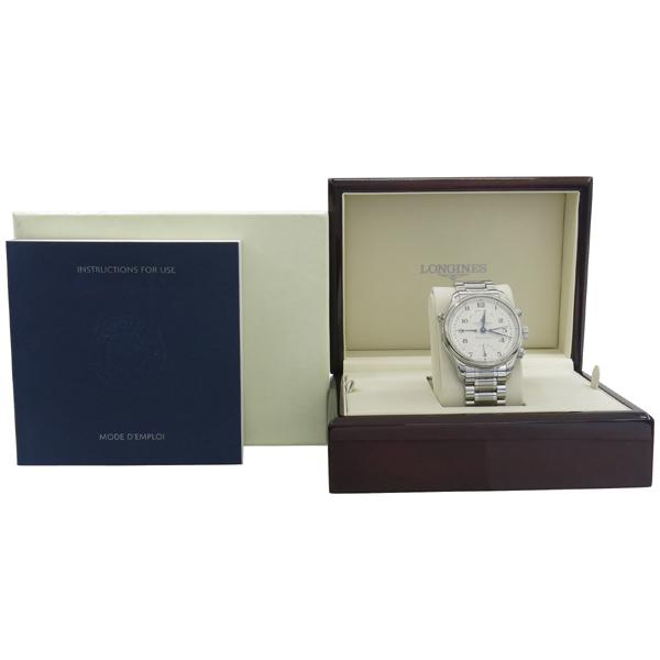 LONGINES(론진) l2.714.4.78.6 마스터 콜렉션 41mm 시스루백 오토매틱 남성용 시계 [강남본점]