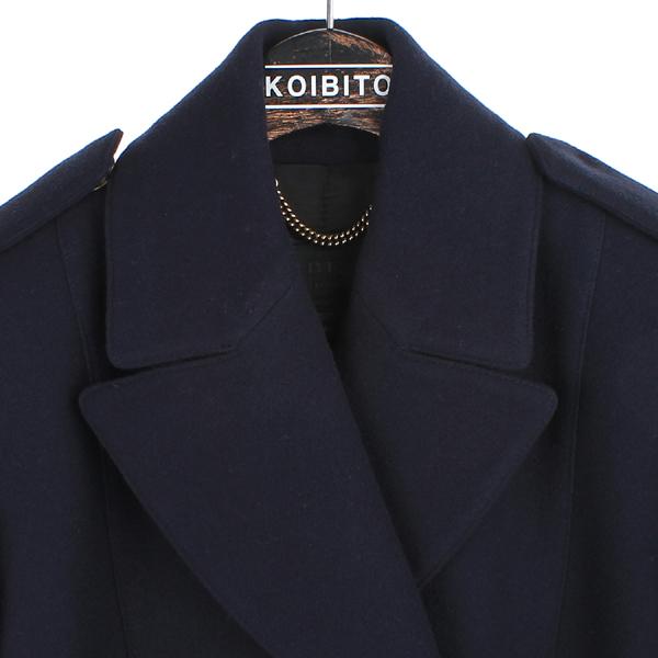 Burberry(버버리) 4486620 PRORSUM 프로섬 네이비 울 더블 버튼 pea coat 피 코트 [동대문점] 이미지2 - 고이비토 중고명품
