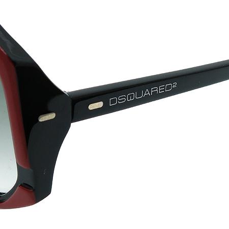 DSQUARED2 (디스퀘어드2) DQ0052 레드 블랙 뿔테 선글라스 [부산본점]