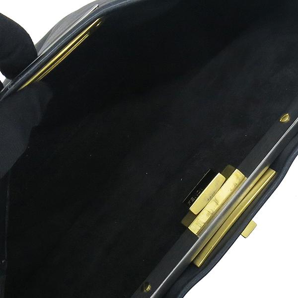 Fendi(펜디) 8BN226 블랙 레더 피카부 M사이즈 2WAY [대전본점] 이미지7 - 고이비토 중고명품