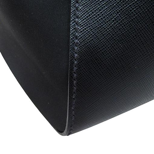Prada(프라다) 1BA005 사피아노 + 테수토 블랙 탑 핸들 토트백 [대구반월당본점] 이미지4 - 고이비토 중고명품