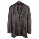 Loewe(로에베) 브라운 램스킨(양가죽) 싱글 스냅 여성용 자켓 [동대문점]