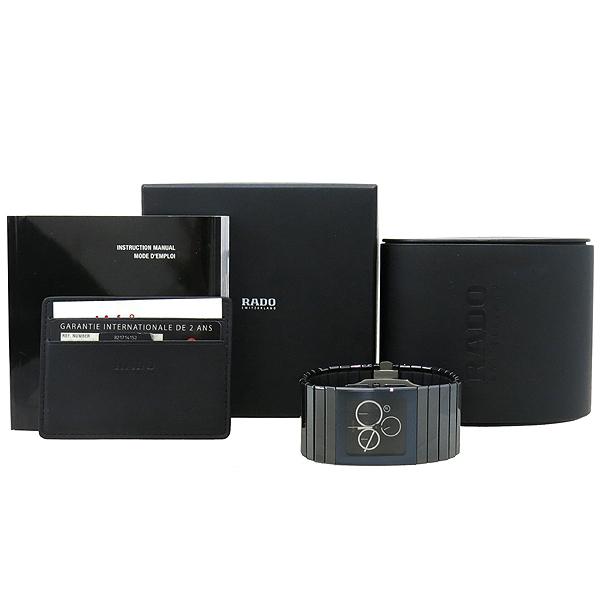 RADO(라도) R21714152 CERAMICA 블랙 세라믹 크로노그래프 쿼츠 남성용 시계 [강남본점]