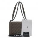 Chanel(샤넬) 밀크브라운 컬러 보이 샤넬 L사이즈 메탈 체인 숄더백 [부산센텀본점]