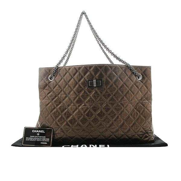 Chanel(샤넬) 2.55 빈티지 브론즈 메탈릭 체인 숄더백 [인천점]
