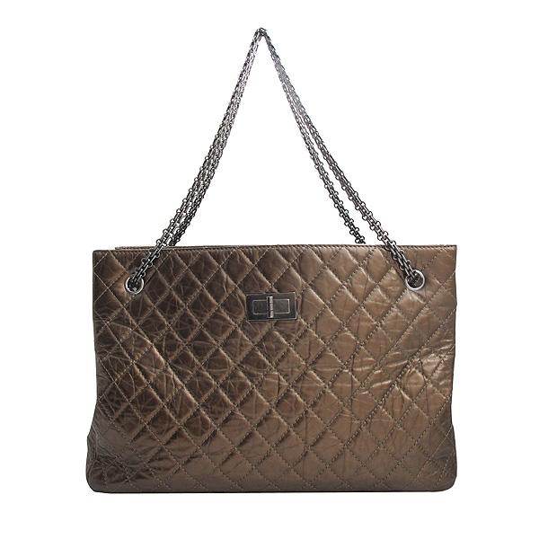 Chanel(샤넬) 2.55 빈티지 브론즈 메탈릭 체인 숄더백 [인천점] 이미지2 - 고이비토 중고명품