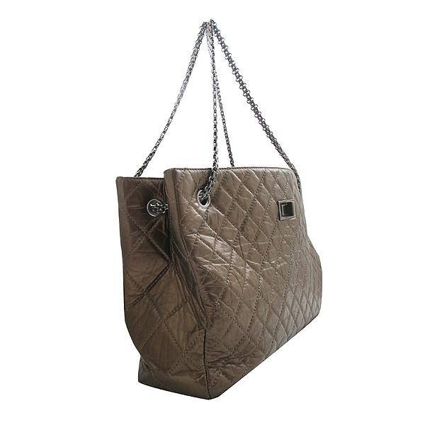 Chanel(샤넬) 2.55 빈티지 브론즈 메탈릭 체인 숄더백 [인천점] 이미지3 - 고이비토 중고명품