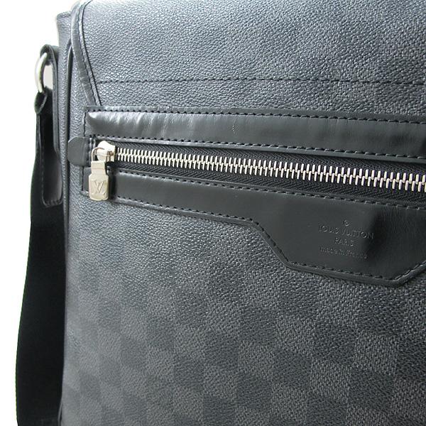 Louis Vuitton(루이비통) N58029 다미에 그라피트 캔버스 다니엘 MM 크로스백 [대구반월당본점] 이미지3 - 고이비토 중고명품
