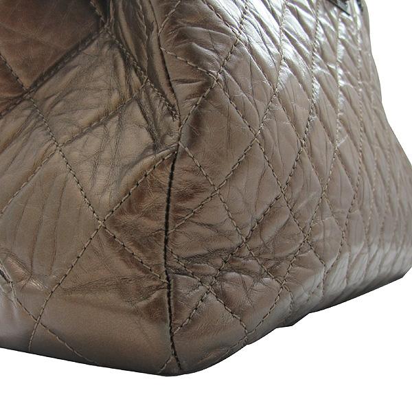 Chanel(샤넬) 2.55 빈티지 브론즈 메탈릭 체인 숄더백 [인천점] 이미지4 - 고이비토 중고명품