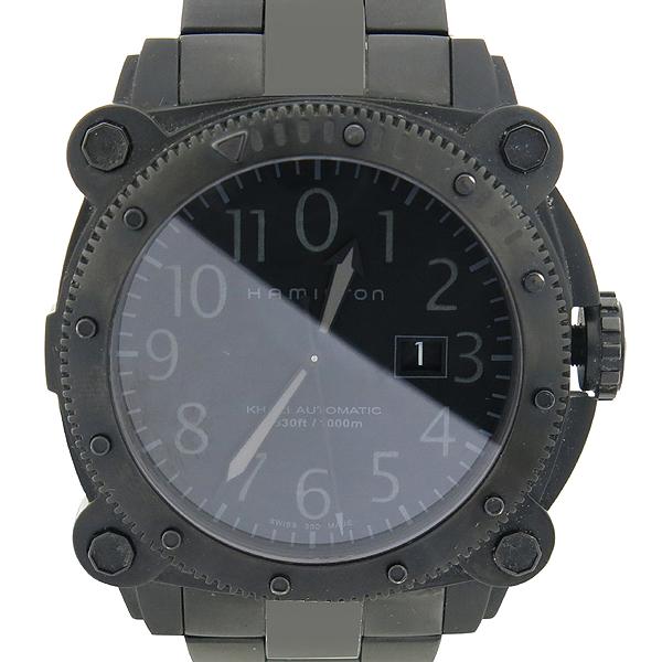 HAMILTON(해밀턴) H785850 KHAKI NAVY BELOWZERO (카키 네이비 빌로우제로) 블랙 컬러 오토매틱 시계 [강남본점]