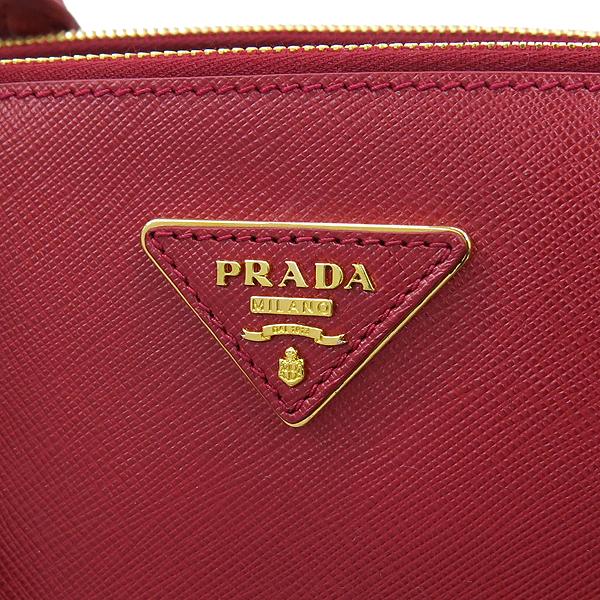 Prada(프라다) BN2274 SAFFIANO LUX 레드컬러 사피아노 럭스 금장 로고 2WAY [강남본점] 이미지4 - 고이비토 중고명품