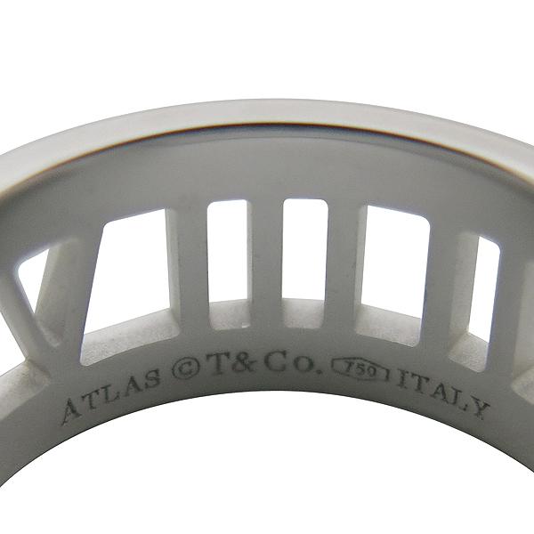 Tiffany(티파니) 18K(750) 화이트골드 3포인트 다이아 오픈 아틀라스 반지-11호 [동대문점] 이미지3 - 고이비토 중고명품