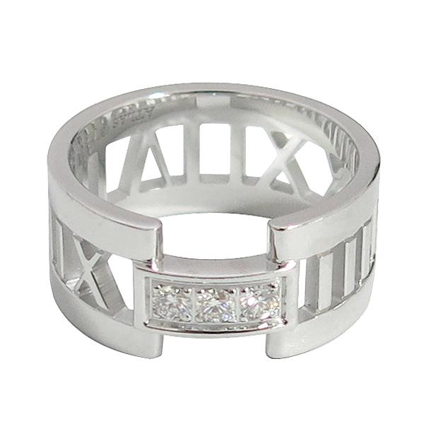 Tiffany(티파니) 18K(750) 화이트골드 3포인트 다이아 오픈 아틀라스 반지-11호 [동대문점] 이미지2 - 고이비토 중고명품