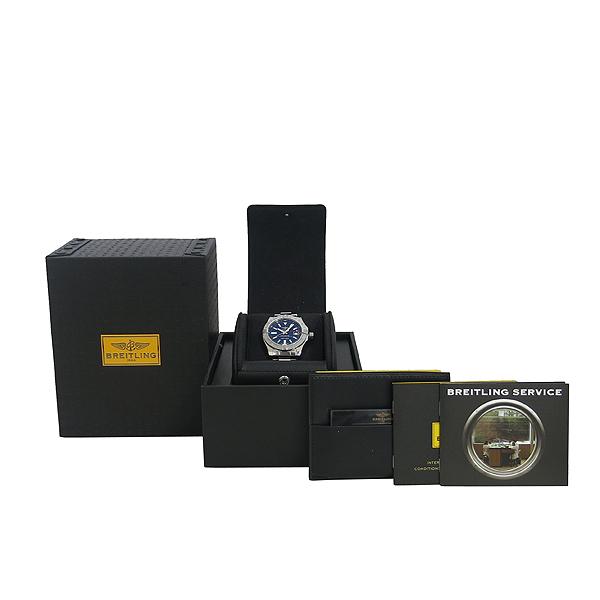 BREITLING(브라이틀링) A3239011/C872 AVENGER 2 GMT 스틸밴드 오토매틱 남성용 시계 [동대문점]