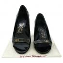 Ferragamo(페라가모) 은장 로고 장식 여성용 구두 [대구반월당본점]