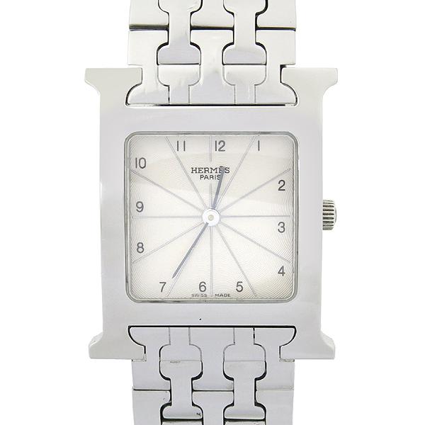 Hermes(에르메스) HH1.510 H-OUR 남성용 스틸 밴드 시계 [강남본점]