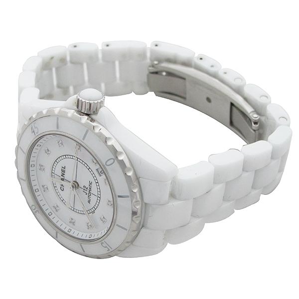 Chanel(샤넬) H1629 J12 화이트 세라믹 12포인트 다이아 38mm 오토메틱 남성용 시계  [대구동성로점] 이미지2 - 고이비토 중고명품