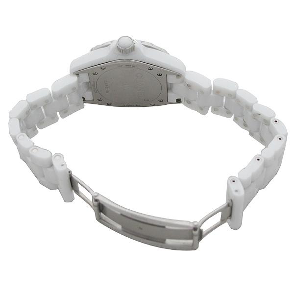 Chanel(샤넬) H1629 J12 화이트 세라믹 12포인트 다이아 38mm 오토메틱 남성용 시계  [대구동성로점] 이미지3 - 고이비토 중고명품