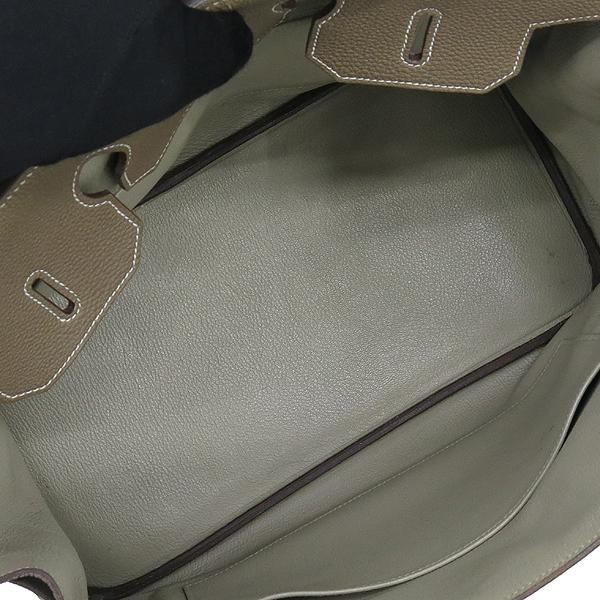 Hermes(에르메스) 벌킨 35 토고 taupe grey 투톤 컬러 금장 토트백 [대구동성로점] 이미지6 - 고이비토 중고명품