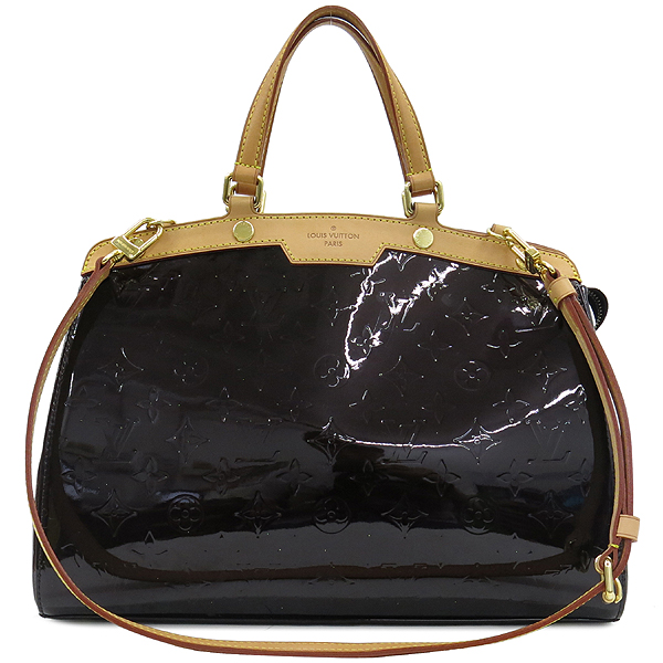 Louis Vuitton(루이비통) M91619 모노그램 베르니 아마랑뜨 브레아 MM 2WAY [강남본점]
