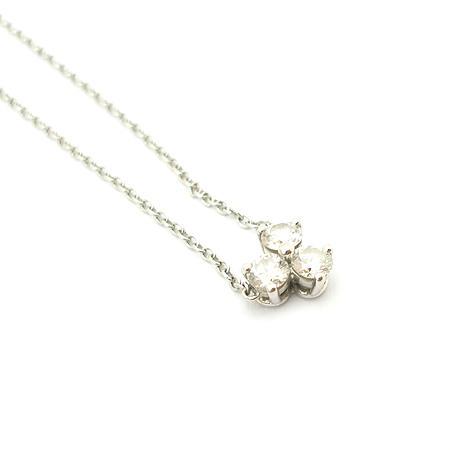 Tiffany(티파니) PT950(플레티늄) 아리아 0.30ct 다이아 목걸이 (W) 이미지4 - 고이비토 중고명품