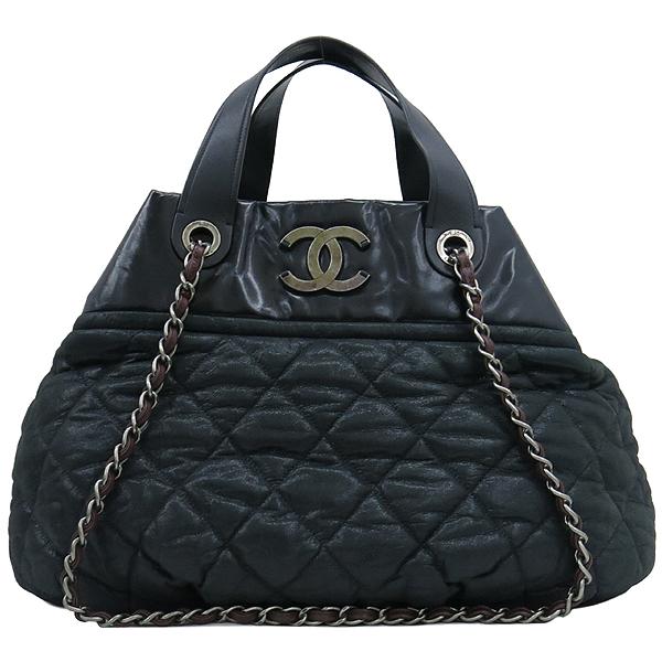 Chanel(샤넬) 블랙 펄 레드브라운 IN THE MIX 인더믹스 금장로고 토트백 + 체인 숄더스트랩 2WAY [강남본점] 이미지2 - 고이비토 중고명품