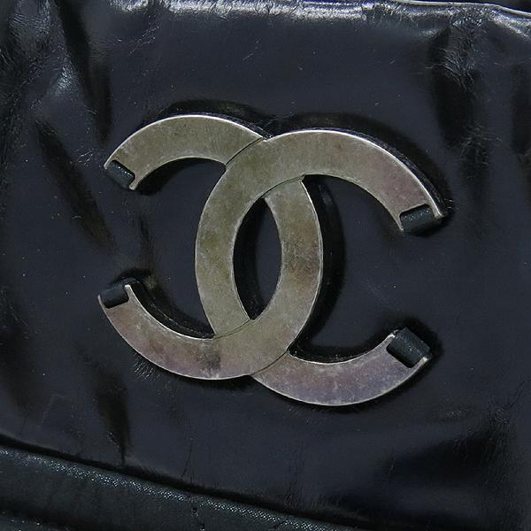 Chanel(샤넬) 블랙 펄 레드브라운 IN THE MIX 인더믹스 금장로고 토트백 + 체인 숄더스트랩 2WAY [강남본점] 이미지4 - 고이비토 중고명품