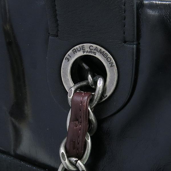 Chanel(샤넬) 블랙 펄 레드브라운 IN THE MIX 인더믹스 금장로고 토트백 + 체인 숄더스트랩 2WAY [강남본점] 이미지5 - 고이비토 중고명품