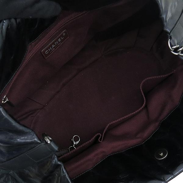Chanel(샤넬) 블랙 펄 레드브라운 IN THE MIX 인더믹스 금장로고 토트백 + 체인 숄더스트랩 2WAY [강남본점] 이미지6 - 고이비토 중고명품