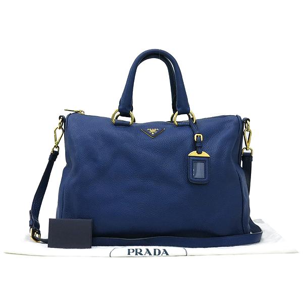 Prada(프라다) BL778M 금장 로고 장식 비텔로 다이노 2WAY [강남본점]