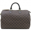 Louis Vuitton(루이비통) N41363 다미에 에벤 캔버스 스피디 35 토트백 [강남본점]