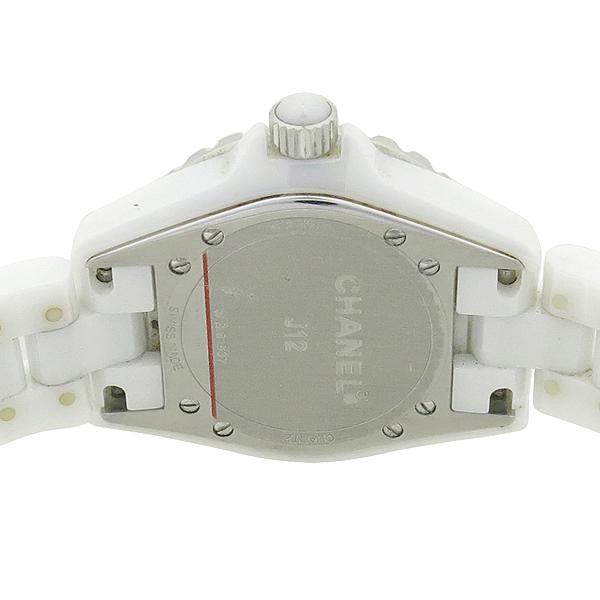Chanel(샤넬) H2123 J12 다이아 세팅 화이트 세라믹 쿼츠 여성용 시계 [대전본점] 이미지5 - 고이비토 중고명품