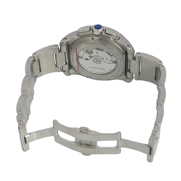 Cartier(까르띠에) W7100045 CALIBRE DE CARTIER(칼리브 드 까르띠에) 크로노그래프 오토매틱 스틸 남성용 시계 [동대문점] 이미지4 - 고이비토 중고명품