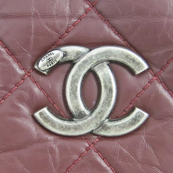 Chanel(샤넬) 버건디 컬러 31 RUE CAMBON 빈티지 은장 체인 숄더백 [동대문점] 이미지3 - 고이비토 중고명품