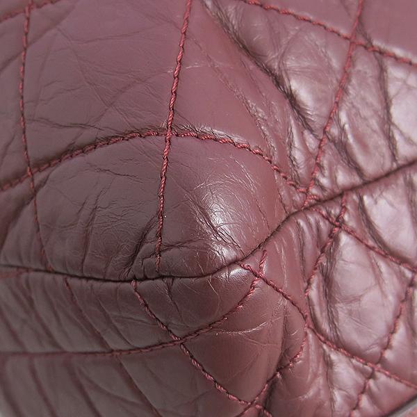 Chanel(샤넬) 버건디 컬러 31 RUE CAMBON 빈티지 은장 체인 숄더백 [동대문점] 이미지4 - 고이비토 중고명품