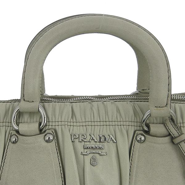 Prada(프라다) BN1936 그레이 레더 그라데이션 나파 고프레 2WAY [동대문점] 이미지3 - 고이비토 중고명품