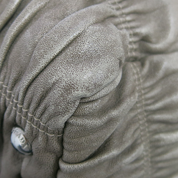 Prada(프라다) BN1936 그레이 레더 그라데이션 나파 고프레 2WAY [동대문점] 이미지4 - 고이비토 중고명품