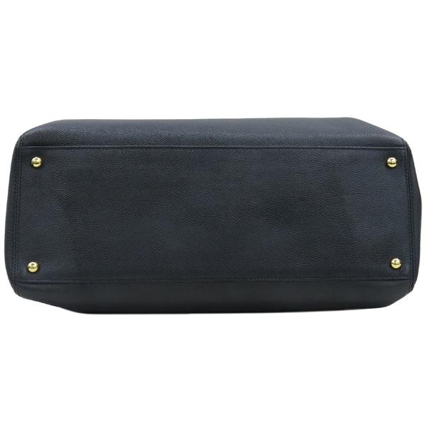 Chanel(샤넬) A15206Y01570 카프스킨 블랙 금장 COCO로고 서프 토트백 + 숄더스트랩 2WAY [대구동성로점] 이미지5 - 고이비토 중고명품